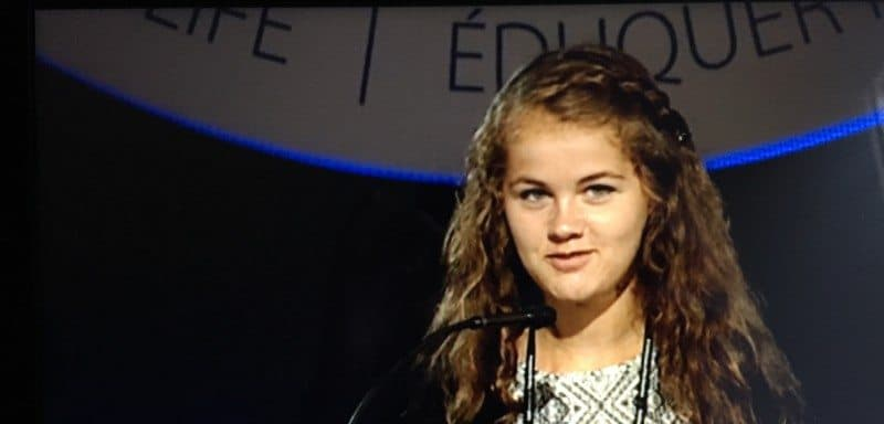 WT Student Speaks at National Conference